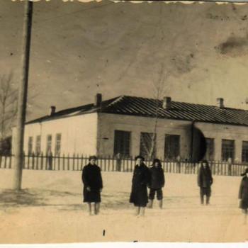 школа Вылково 1955-56г